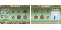 Sada oběžných mincí ARGENTINA
