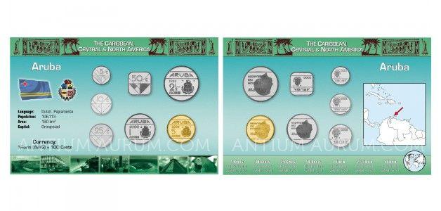 Sada oběžných mincí ARUBA