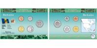 Sada oběžných mincí BARBADOS