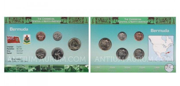 Sada oběžných mincí BERMUDY