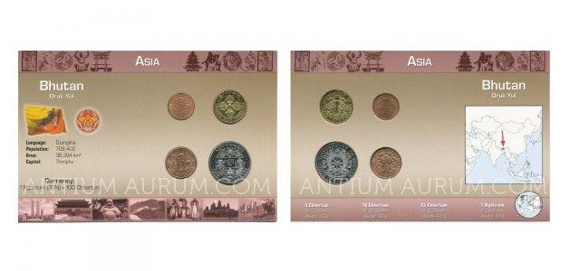 Sada oběžných mincí BHÚTÁN