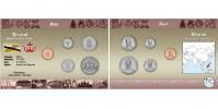 Sada oběžných mincí BRUNEJ
