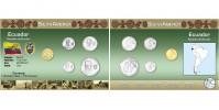 Sada oběžných mincí EKVÁDOR
