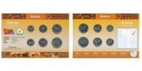 Sada oběžných mincí ERITREA