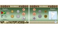 Sada oběžných mincí GUYANA