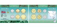 Sada oběžných mincí KOSTARIKA