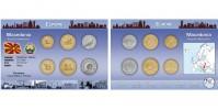 Sada oběžných mincí MAKEDONIE