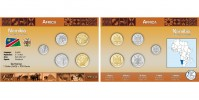 Sada oběžných mincí NAMIBIE