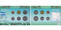 Sada oběžných mincí NIKARAGUA