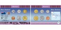 Sada oběžných mincí NOVÝ ZÉLAND