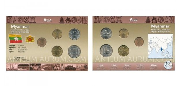 Sada oběžných mincí BARMA