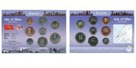 Sada oběžných mincí OSTROV MAN