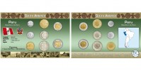 Sada oběžných mincí PERU