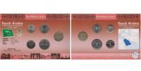 Sada oběžných mincí SAÚDSKÁ ARÁBIE