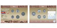 Sada oběžných mincí SEVERNÍ KOREA