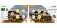 Sada oběžných mincí TANZANIE