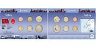 Sada oběžných mincí TURECKO