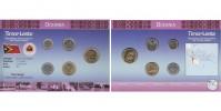 Sada oběžných mincí VÝCHODNÍ TIMOR
