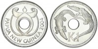 MINCE 1 KINA PAPUA NOVÁ GUINEA