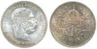 1 KORUNA 1899 FRANTIŠEK JOSEF I. (1848 - 1916)