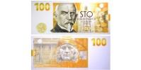 Bankovka 100 Kč 2019 100. Výročí budování československé měny s portrétem Aloise Rašína