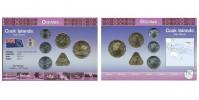 Sada oběžných mincí COOKOVY OSTROVY ( COOK ISLANDS)