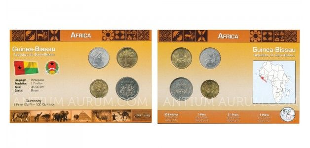 Sada oběžných mincí REPUBLIKA GUINEA-BISSAU REPÚBLICA DA GUINÉ-BISSAU)