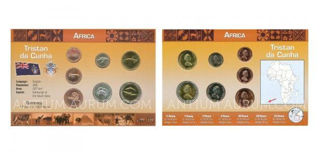 Sada oběžných mincí TRISTAN DA CUNHA