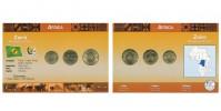 Sada oběžných mincí ZAIRE (RÉPUBLIQUE DU ZAIRE)