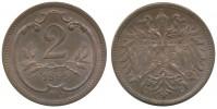 2 HELLER 1895 FRANTIŠEK JOSEF I. (1848 - 1916)
