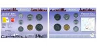 Sada oběžných mincí VATIKÁN  (VATICAN CITY STATE)