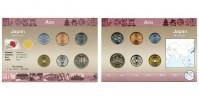 Sada oběžných mincí JAPONSKO (JAPAN)