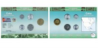 Sada oběžných mincí KUBA (CUBA)