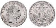 10 KREUZER 1869 FRANTIŠEK JOSEF I. (1848 - 1916)