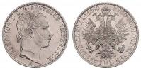1 GULDEN 1860 A FRANZ JOSEPH I.