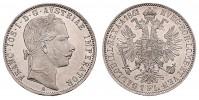 1 GULDEN 1861 A FRANZ JOSEPH I