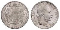 1 GULDEN 1878 FRANZ JOSEPH I