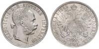 1 GULDEN 1889 FRANZ JOSEPH I
