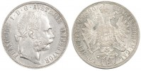 1 GULDEN 1890 FRANZ JOSEPH I