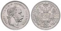 1 GULDEN 1868 FRANZ JOSEPH I